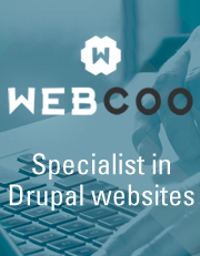 WebCoo, specialist in drupal websites